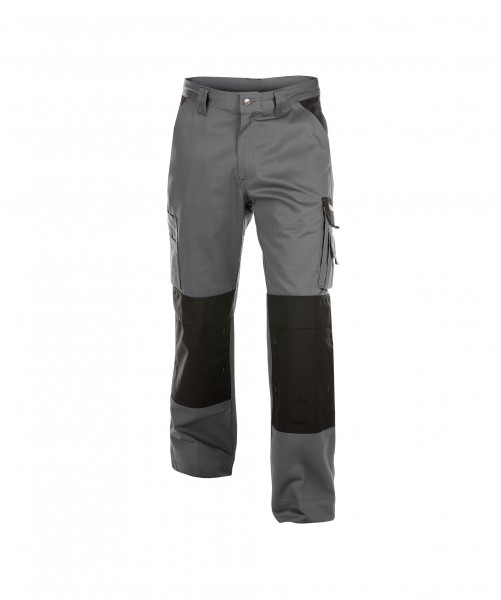 BOSTON_Two-tone-work-trousers-with-knee-pockets_Cement-grey-Black_FRONT_1