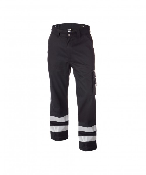 VEGAS_Work-trousers-with-reflective-tape_Black_FRONT_1