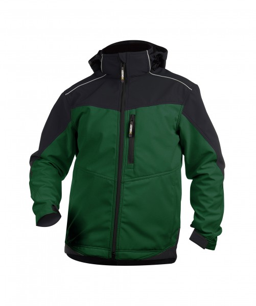 JAKARTA_Two-tone-softshell-jacket_Bottle-green-Black_FRONT_1